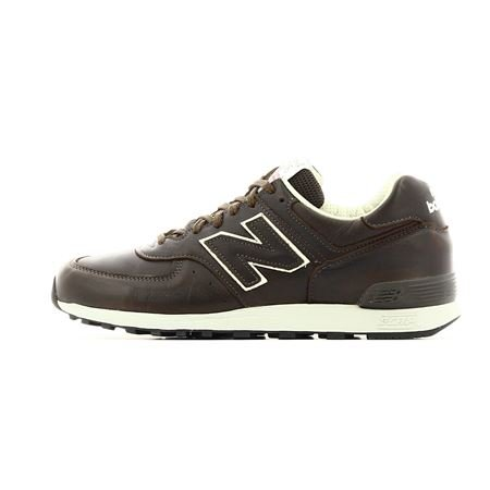 NEW BALANCE M 576 CBB Leather Brown Made in England Limited Edition (7,5 UK (41.5 EU), MARRONE BROWN)