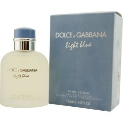 Dolce & Gabbana Eau de Toilettes Spray, Light Blue, 4.2 Fluid Ounce