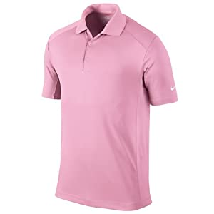 Nike Golf 2013 Polo pour Homme Dri-FIT Victory Logo Manche Gauche Tenue Sport - Perfect Rose - M