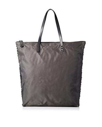 Valentino Men's Nylon Tote, Dark Grey