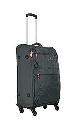Super Lightweight 4 Wheel Spinner Suit Case Trolley Cases Luggage Cabin Holiday