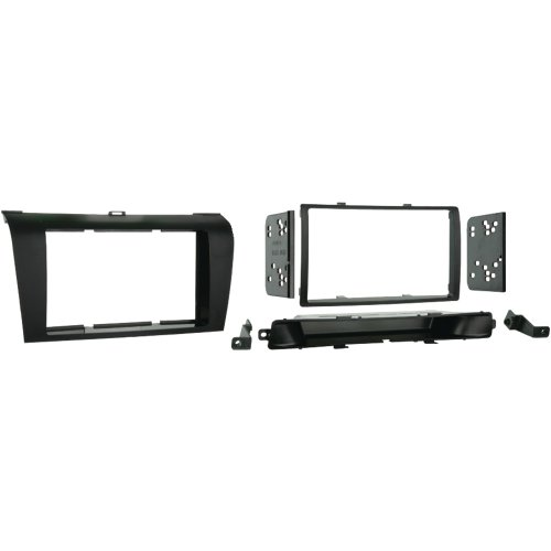 1 - 2004 - 2009 Mazda 3 Double DIN Installation Kit, Includes display replacement pocket, Designed specifically for installation of double-DIN radios or 2 single DIN radios, 95-7504 (Double Din Kit Mazda 3 compare prices)