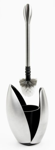 best buy toilet bowl cleaner on sale oxo good grips 123508 curve toilet brush and canister. Black Bedroom Furniture Sets. Home Design Ideas