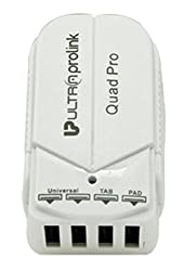 Ultra Prolink UM006 Quad Pro USB Charger for Apple iPhone, iPad and Tablets