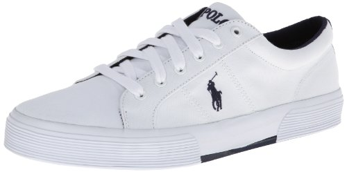 Polo Ralph Lauren Men'S Felixstow Fashion Sneaker,Pure White,10 D Us