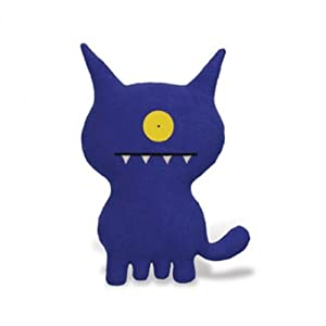 Ugly Doll Classic Plush Doll, Ugly Dog Blue