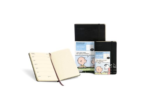 Moleskine 2013 18 Month Peanuts Limited Edition Weekly Notebook Planner Large (Moleskine Legendary Notebooks (Calendars))
