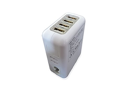 Aspentek Four In One 4 Ports Usb Universal Travel Wall Charger Ac Charger With Us Uk Eu And Au Plug For Smart Phones,Iphone, Ipad, Samsung Galaxy S5, S4, S3, S2, Galaxy Note 2,Pda, Pda Mobile Phones,Etc