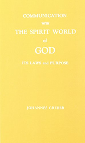 communication with the spirit world of god