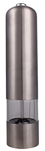 Electric Pepper Mill Stainless Steel Electric Pepper Grinder Kitchen Spice Sauce Salt Mill Grinder