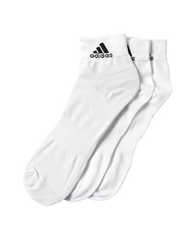 adidas 3tlg. Set Socken Performance weiß/schwarz