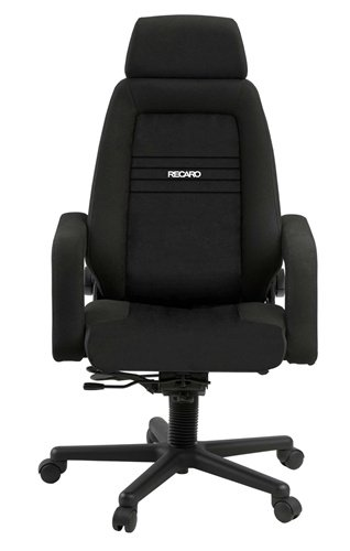 Recaro Ex Office Chair: Cloth With Premium Wheels - Taupe Absecon front-821354