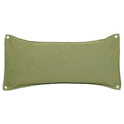 Hatteras Hammocks Traditional Hammock Pillow Willow Place - Leaf Chambray