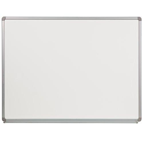 Flash Furniture 4-Feet W x 3-Feet H Porcelain Magnetic Marker Board (YU-90X120-POR-GG)