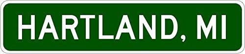 Hartland, Michigan City Sign