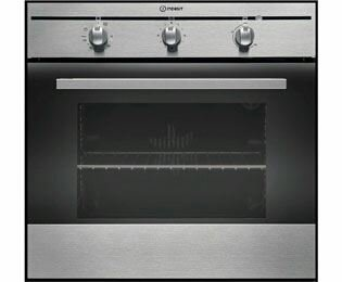 Indesit FIM31KAIX Built In Electric Single Oven - Stainless Steel - 1995565