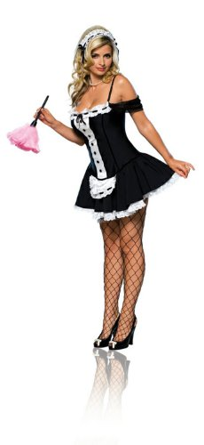 Sexy Adult Costumes French Maid Outfit Womens Costume