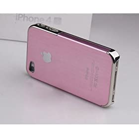 iPhone4s/4 �A���~�n�[�h�P�[�X �s���N�~�V���o�[ �e�F�L��
