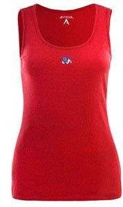 Fresno State Bulldogs NCAA Fan Tank Ladies Tank Top (Dark Red) by Antigua