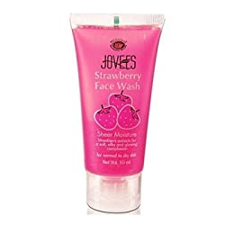 Jovees Face Wash, Strawberry, 50ml