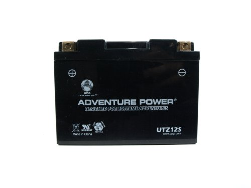 UPG UTZ12S Adventure Power Power Sport AGM Series Sealed AGM Battery