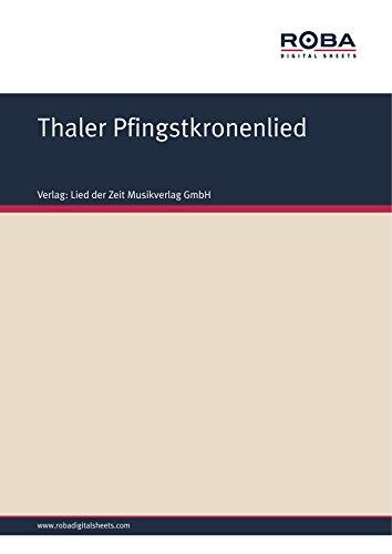 thaler-pfingstkronenlied-harzer-lied-german-edition