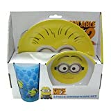 Despicable Me Minions 3pc Dinnerware Set