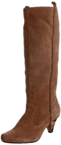 Feud London Women's Clique Cognac Pull On Boot 203311021 6 UK