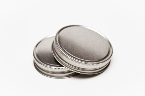 Silver Jelly Lid for Mason Jar Pack of 12 Count Lids