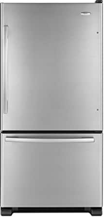 Whirlpool GB2FHDXWQ Gold 21.9 Cu. Ft. White Bottom Freezer Refrigerator - Energy Star