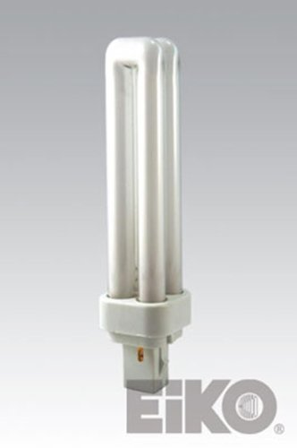 Eiko 15566 - Qt18/27 Double Tube 2 Pin Base Compact Fluorescent Light Bulb