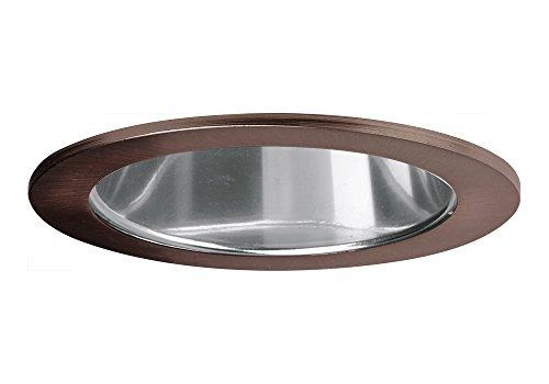 "Aurora 6"" Mirrored Cone, Bronze Trim For Halo / Juno Recessed Downlight Cans, Par38 Version - Ar-Tr63Mrbr"