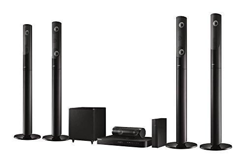Samsung-HT-J5550W-51-3D-Blu-ray-Heimkinosystem-1000W-kabellose-Rcklautsprecher-WLAN-Bluetooth-FM-Tuner-schwarz