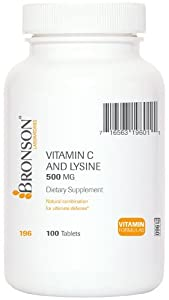 Vitamin C and Lysine