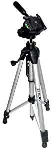 Zeikos ZE-TR101A 72-Inch Photo / Video Tripod includes Deluxe Carrying Case for Use with Camcorders and Digital Cameras