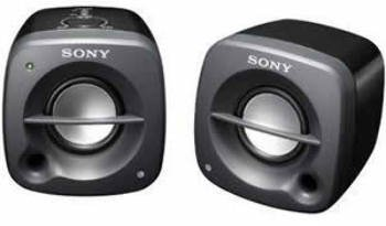 Sony Portable Ac/Aaa Powered Speakers