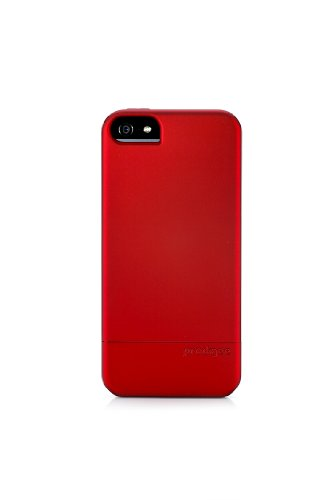 Special Sale Prodigee Sleek Slider 2 piece Case, iPhone 5 - Red