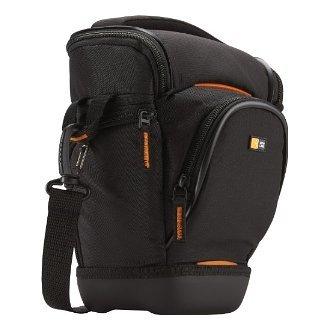 Case Logic Digital SLR Zoom Holster Camera Bag/Case (Black) (SLRC-201) for Nikon D40, D60, D3000, D3100, D5000, D5100, D7000, D300s, D3 & D3s