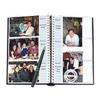 "Pioneer Bi-Directional Spiral Bound Photo Album, Designer Series Leaves Covers, Holds 300 4"" x 6"" Photos, 3 Per Page"