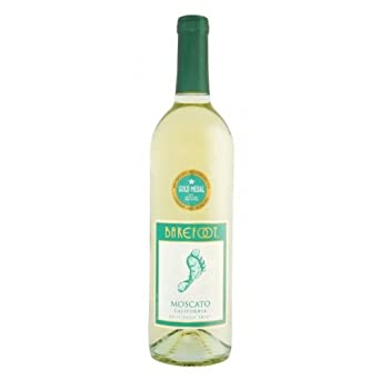 75cl Barefoot Moscato Desert Wine (Case of 6)