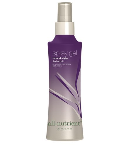 All Nutrient Spray Gel Natural Styler - Flexible Hold 8.4 fl. oz (All Nutrient Hair Spray compare prices)