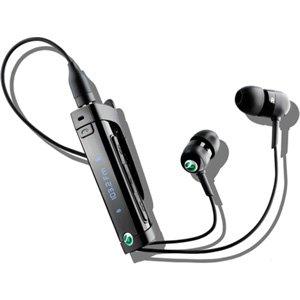 SONY ソニーエリクソン Bluetoothワイヤレスヘッドセットマイク付き  ブラック MW600/B