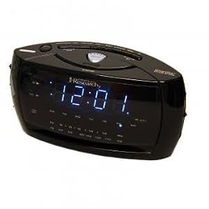 emerson smartset dual alarm am fm clock radio with smartset autom. Black Bedroom Furniture Sets. Home Design Ideas