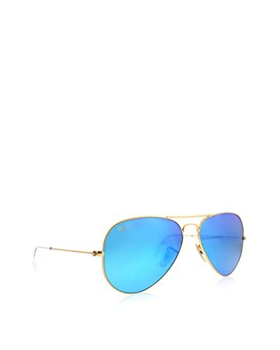 Ray-Ban Unisex RB3025 Aviator 58mm Gold Sunglasses