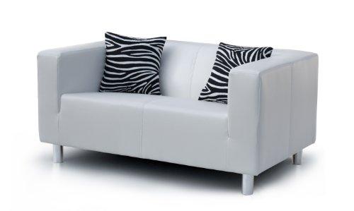 B-famous-2-Sitzer-Sofa-Cube-135-x-85-cm-PU-wei