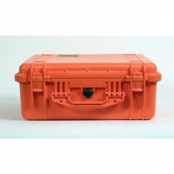 Pelibox with 1550 foam insert (Colour: orange)