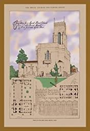 30 x 20 Stretched Canvas Poster Shaw Church