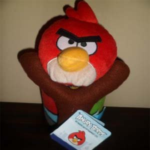 Angry Birds Figure and Pillow Set by Rovio - 1