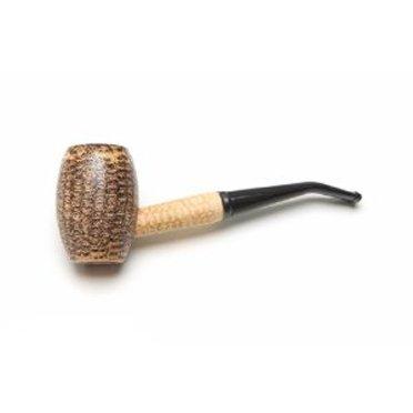 B00735EXYE Missouri Meerschaum Country Gentleman Corncob Tobacco Pipe Bent
