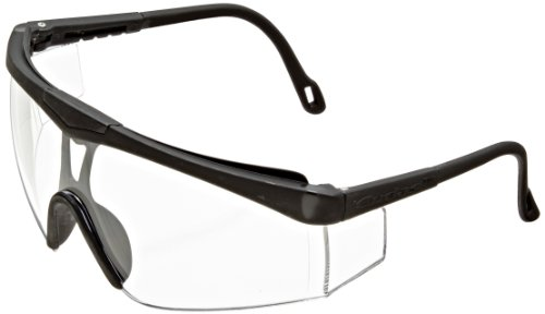 Jackson Safety V50 Cudas Clear Lens Safety Eyewear with Black Frame (Case of 12)